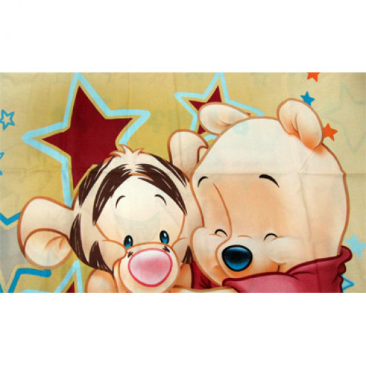Lenzuola Lettino Winnie The Pooh.Completo Lenzuola Lettino Culla Disney Winnie The Pooh Baby Beige 100 Cot A818