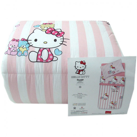 Trapunta Hello Kitty Gabel.Trapunta Hello Kitty Gabel Invernale Singola Una Piazza Little Friends G569