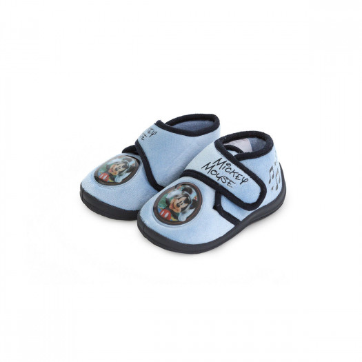 new product 464ce 6bde2 Pantofole alte a strappo Music Mickey Mouse Disney baby R528