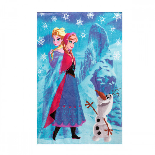 Plaid flannel Frozen Disney supersoft 100x140 cm