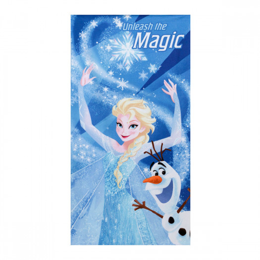 Telo mare disney frozen magic elsa 70x140 cm
