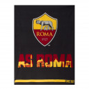 Plaid in pile A.S. Roma ufficiale 120x150 cm T142
