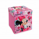 Pouf Contenitore Minnie Disney Smart box salvaspazio U645