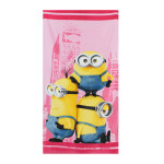 Telo mare Minions in the city 70x140 cm. spugna di cotone 1.jpg