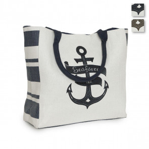 Borsa mare in tessuto Canvas the seafarer