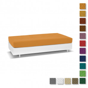 Cover Bed Living Genius Biancaluna Singolo Antimacchia