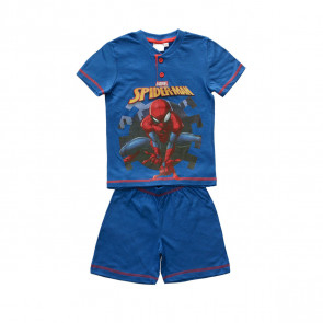 Pigiama corto da bambino marvel spiderman mv16146