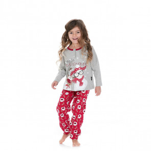 Pigiama da bambina happy people caldo cotone h4452