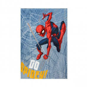 Plaid flannel Spiderman Marvel supersoft 100x140 cm
