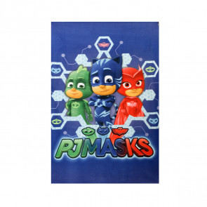 Plaid in pile Team Pjmasks Superpigiamini 100x150 cm