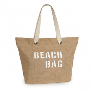 borsa mare beach bag juta naturale