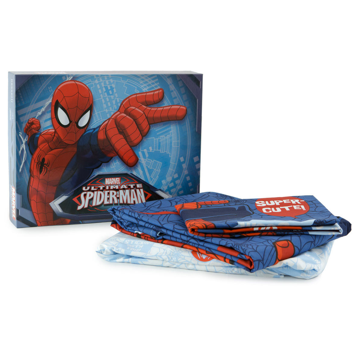 Completo lenzuola spiderman 3 marvel bassetti singolo m848 - Letto di spiderman ...