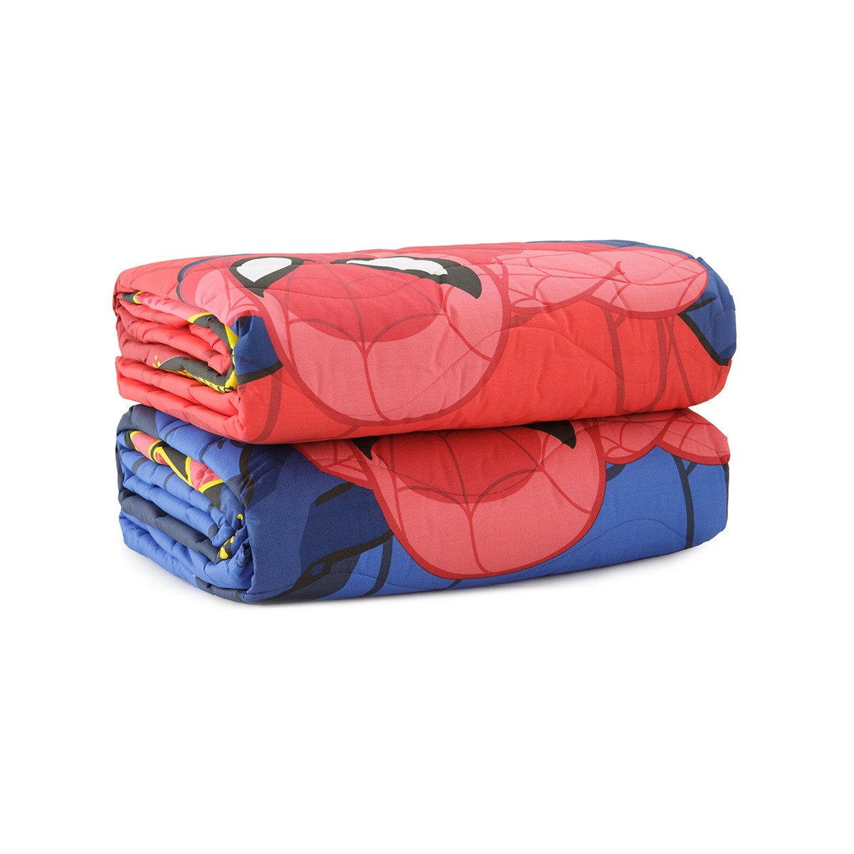 Copriletto trapuntato spiderman go spidey di novia singolo - Letto di spiderman ...