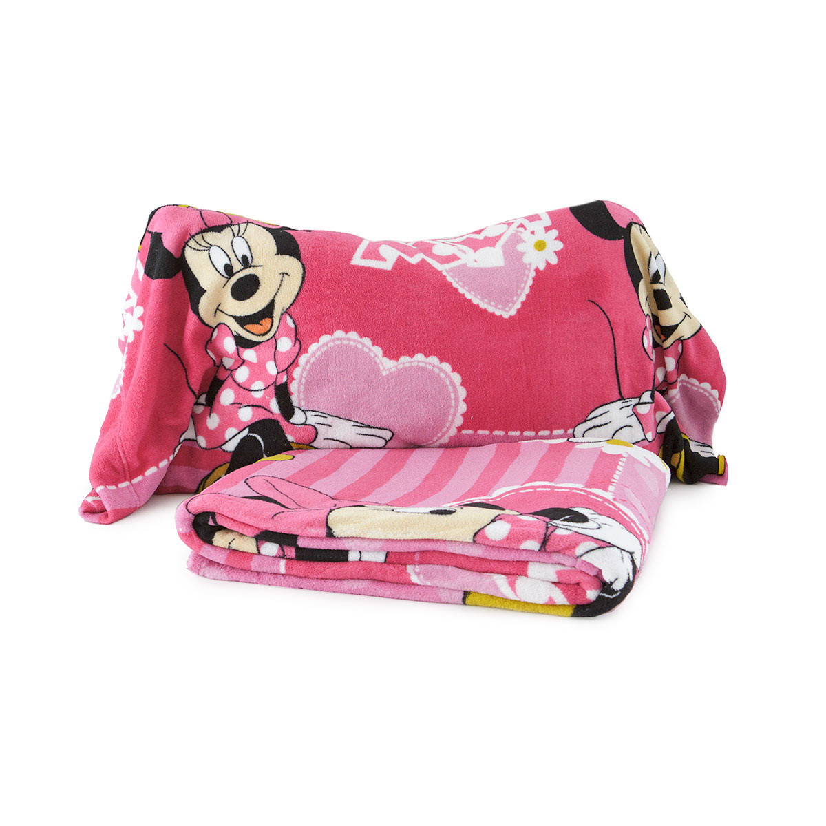 Lenzuola in pile minnie disney completo per letto singolo - Completo lenzuola letto singolo ...